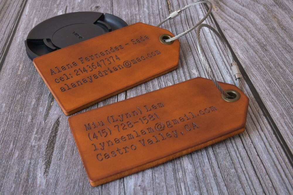 leather luggage tag-3