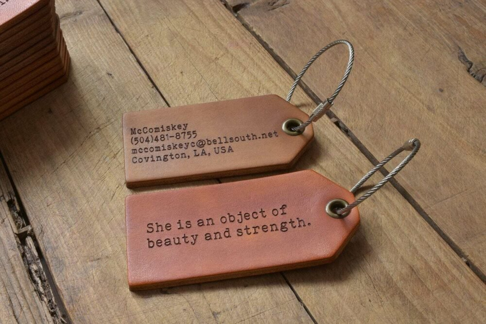 leather luggage tag-5