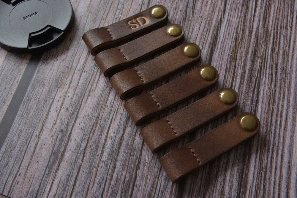 Leather cable organizer TA 044-3