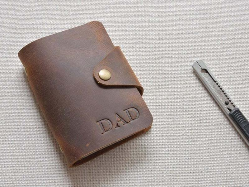 Leather credit card holder TA 051-1