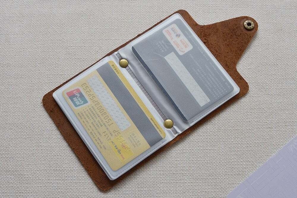 Leather credit card holder TA 051-2
