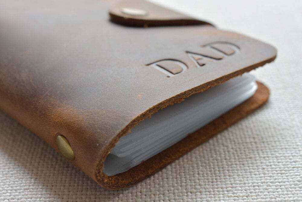 Leather credit card holder TA 051-4