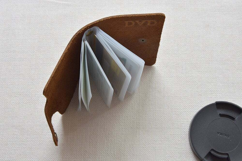 Leather credit card holder TA 051-7