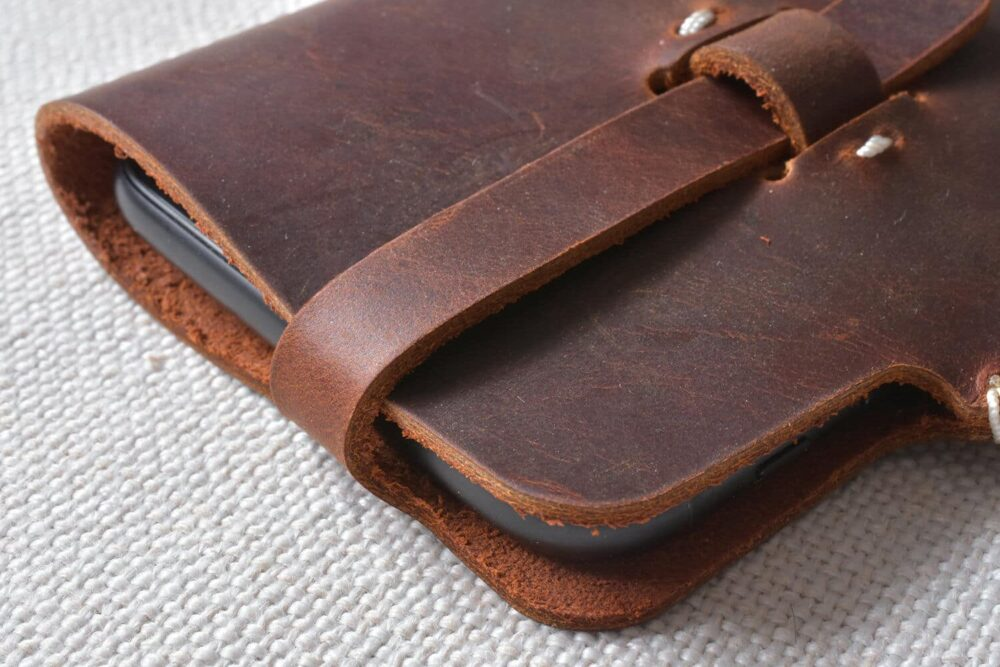 iPhone 7 leather case TA 038-4
