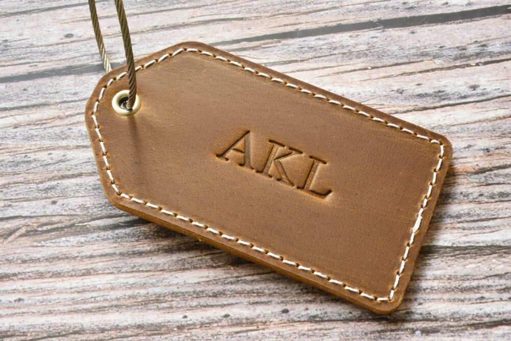 Personalized luggage tag TA 052-8