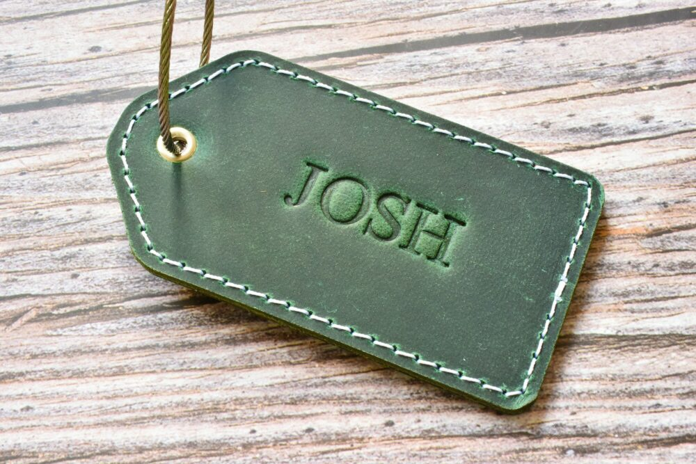 Personalized luggage tag TA 052-7