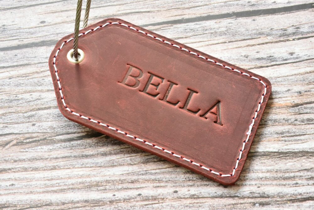 Personalized luggage tag TA 052-6