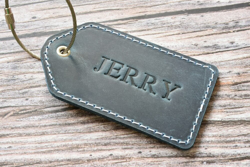 Personalized luggage tag TA 052-5