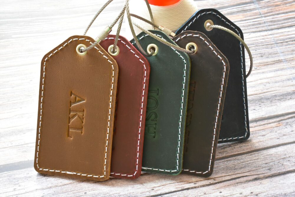 Personalized luggage tag TA 052-2