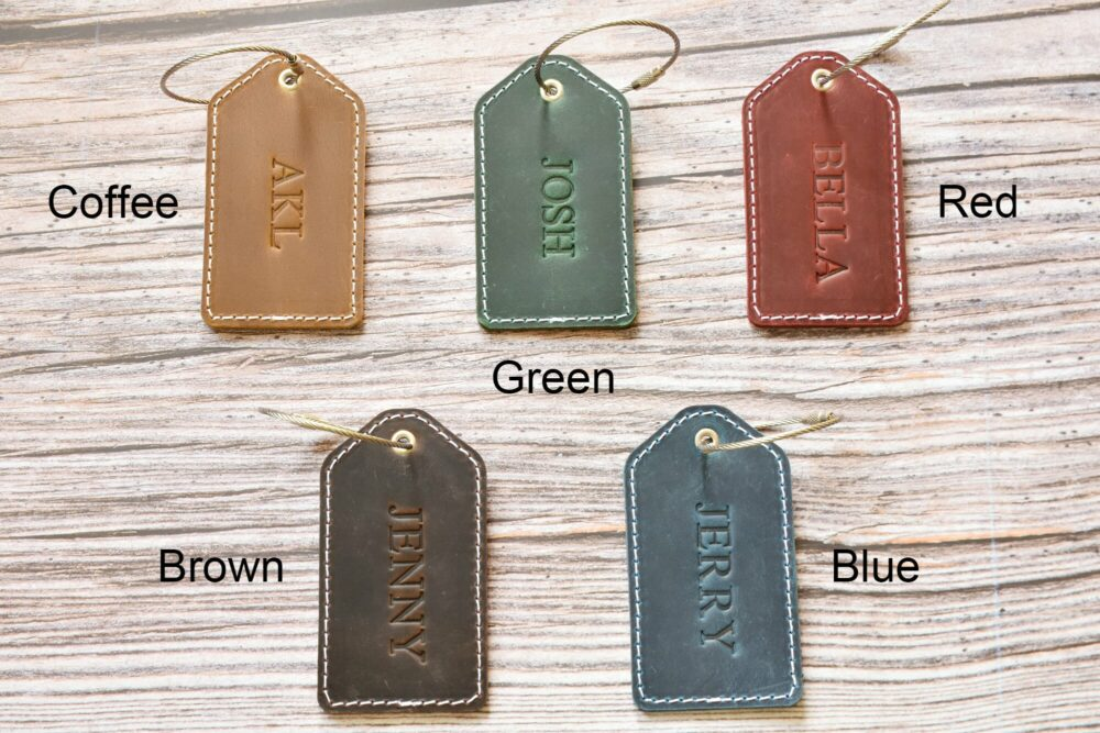 Personalized luggage tag TA 052-1