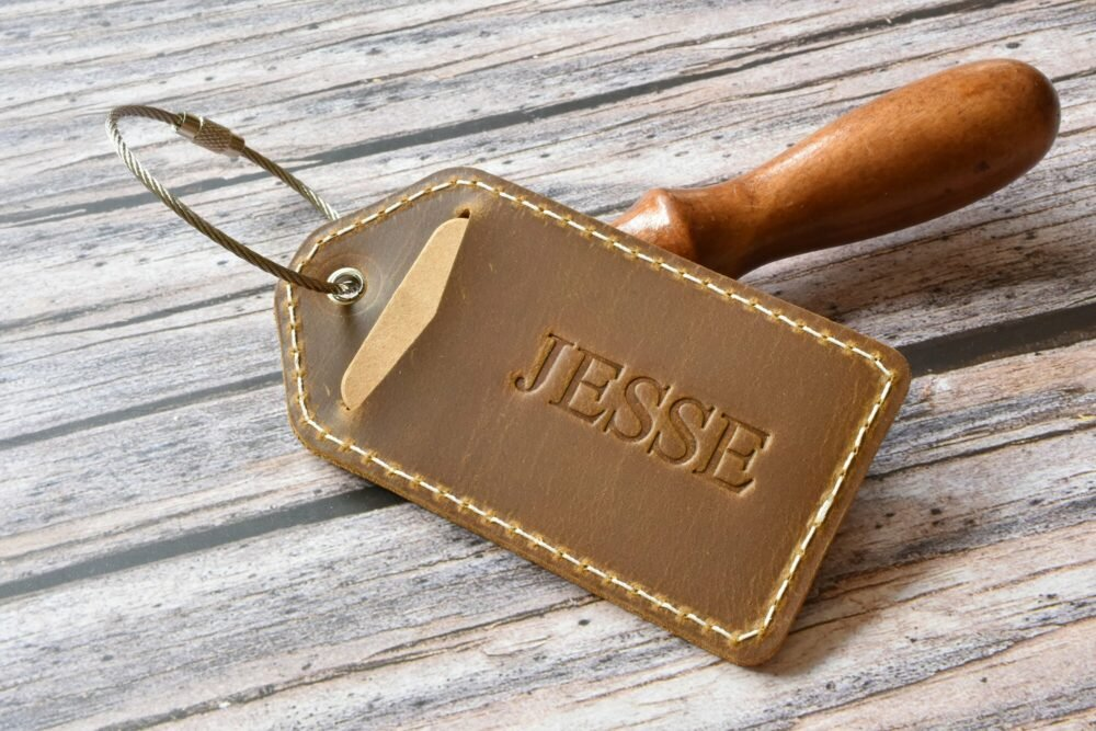 Personalized luggage tag TA 052-12