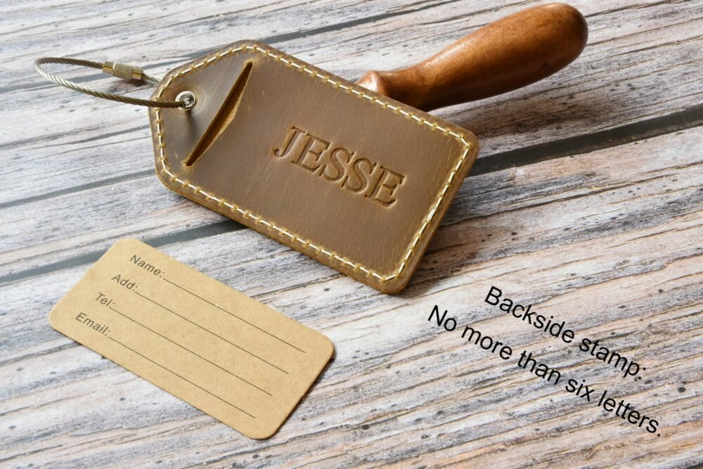 Personalized luggage tag TA 052-13